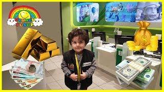 Yusuf Bankacı Oldu Para Altın Kazandı|Eğlenceli Çocuk Videosu