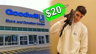 THE $20 OUTFIT CHALLENGE AT GOODWILL!
