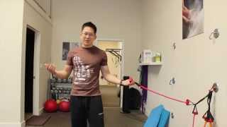 Upper traps overactive in upper body exercise?