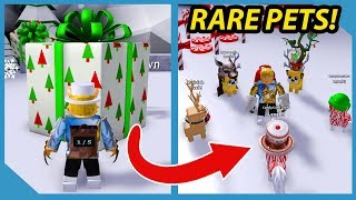 *NEW* Buying the Most Expensive Pet in Roblox Present Simulator