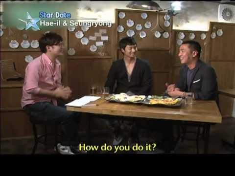[Star Date] Park Hae-il & Ryu Seungryong (박해일 & 류승룡)