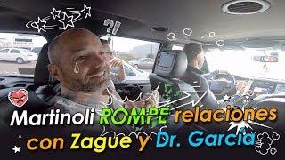 Martinoli rompe relaciones con Zague y el Dr. García