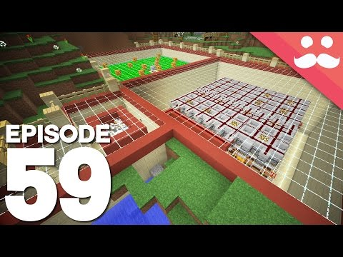Hermitcraft 4: Episode 59 - Double Farm Module!