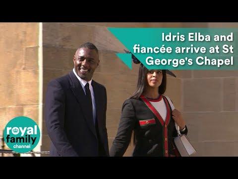 Idris Elba arrives at Royal Wedding 2018 of Prince Harry and Meghan Markle