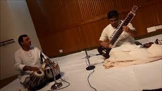 Sitar Recital by Anjan Saha and Ustaad Akram Khan on Tabla