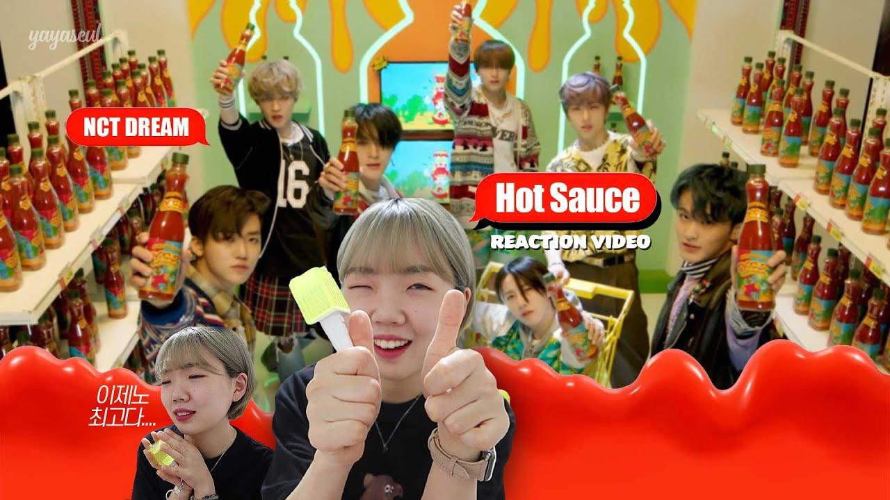 야슬 덕질┃안냐세요 여기는 리액션 맛(Hot Sauce)집입니뎅🥨 【NCT DREAM 엔시티 드림 - 맛(Hot Sauce) MV REACTION / 시즈니 리액션】