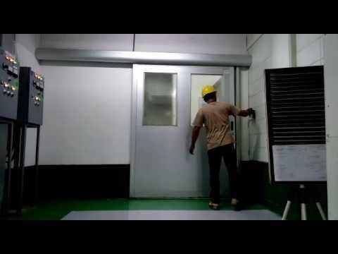 Automatic Sliding door industrial (key Automation ) di YMMA