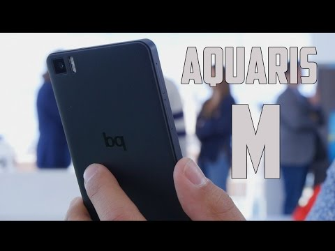 BQ Aquaris M, Primeras impresiones