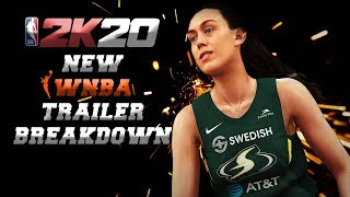 NBA 2K20 OFFICIAL WNBA GAMEPLAY TRAILER! FIRST LOOK AND BREAKDOWN!
