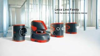 видео Лазерный нивелир-уровень Leica LINO 2
