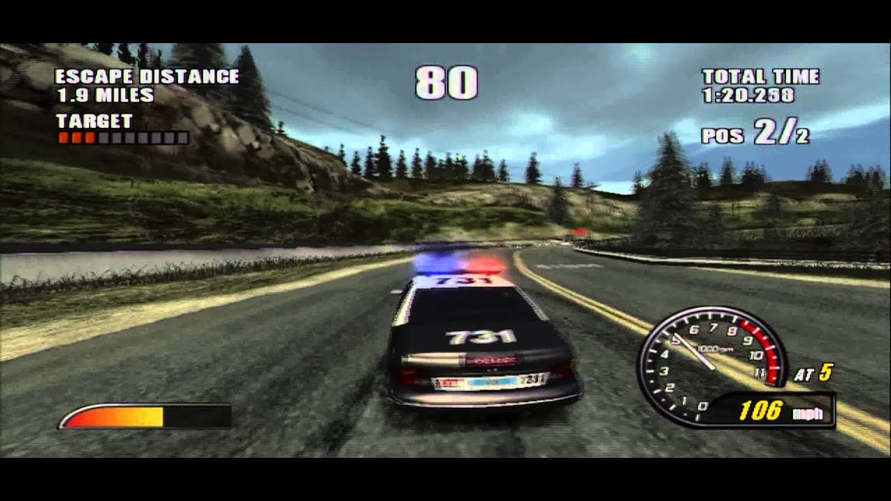 Burnout 2 Point Of Impact Ps2 Pursuit 2 Youtube