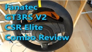 Review: Fanatec €260 Combo Pack: Porsche 911 GT3 RS V2 CSR Elite Edition EU