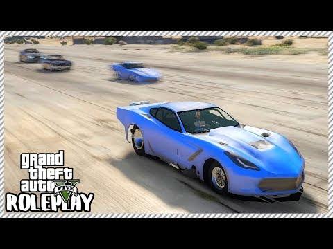 GTA 5 Roleplay - 'INCREDIBLE' C7 Corvette Pro Mod Drag Racing | RedlineRP #353