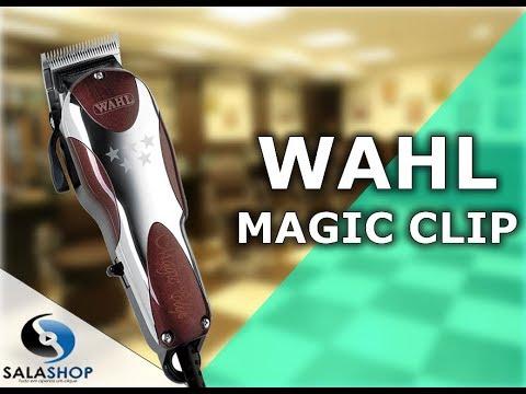 7f4c6f118 Unboxing Apresentação Máquina de Cortar Cabelo Wahl Magic Clip - YouTube