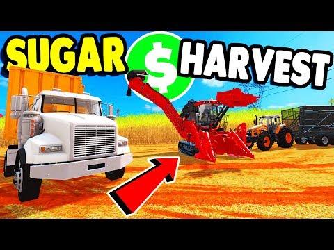 HUGE Sugar Harvest  & NEW MAP TOUR | Farming Simulator 17 Platinum Multiplayer Gameplay