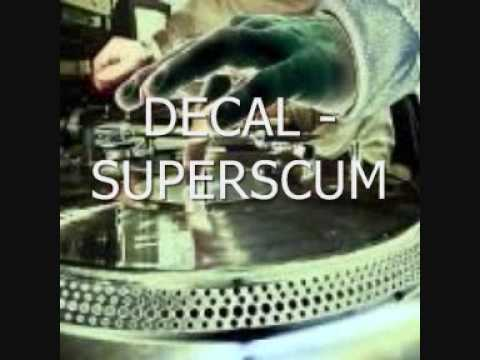 DECAL - SUPERSCUM.