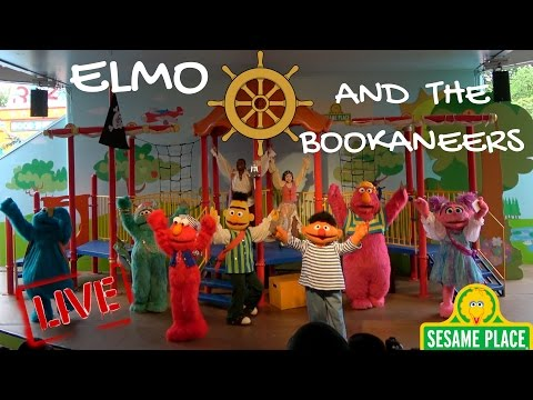 Elmo and The Bookaneers  | Sesame Place | Sesame Street