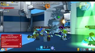 LEGO Universe Medusa at Nexus Tower