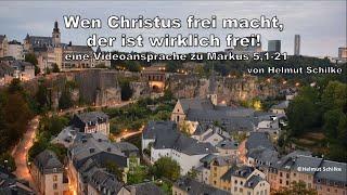 Wenn Christus frei mach, der ist wirklich frei!