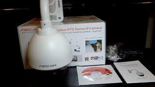 Foscam FI9828 IP Video Camera Unboxing
