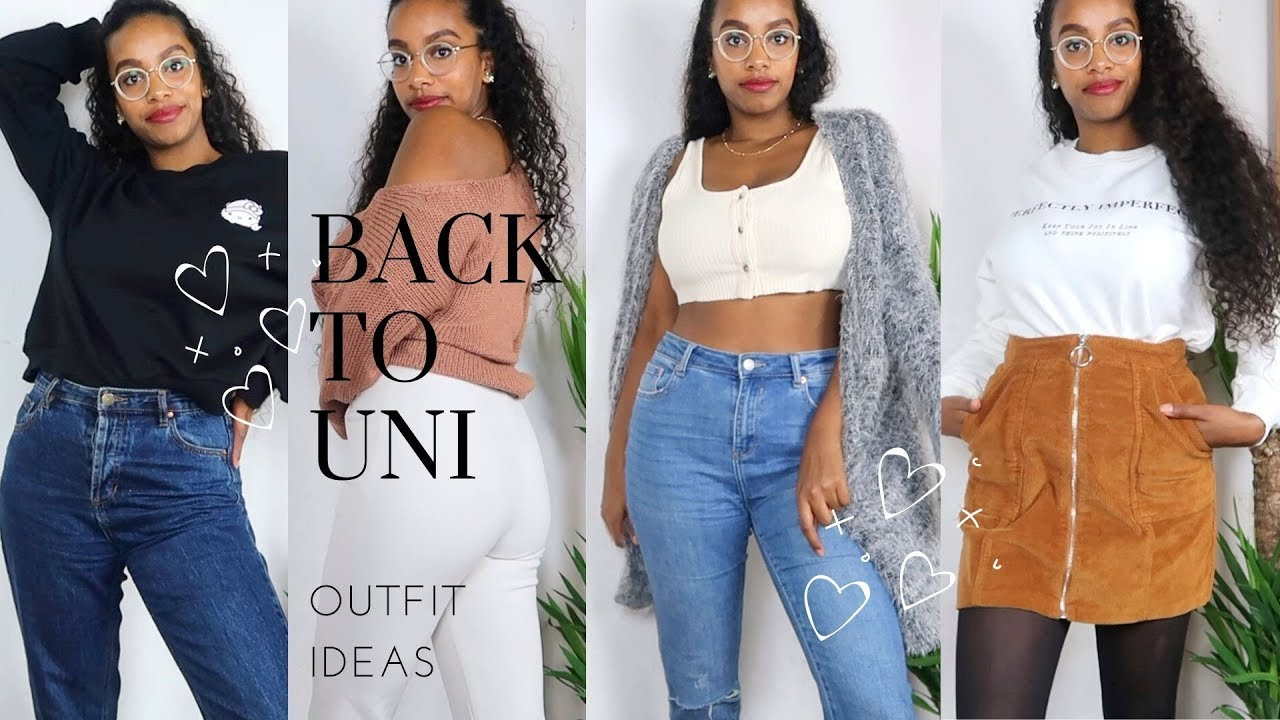 [VIDEO] - BACK TO UNI/SCHOOL OUTFIT IDEAS   H&M, Topshop and more 1