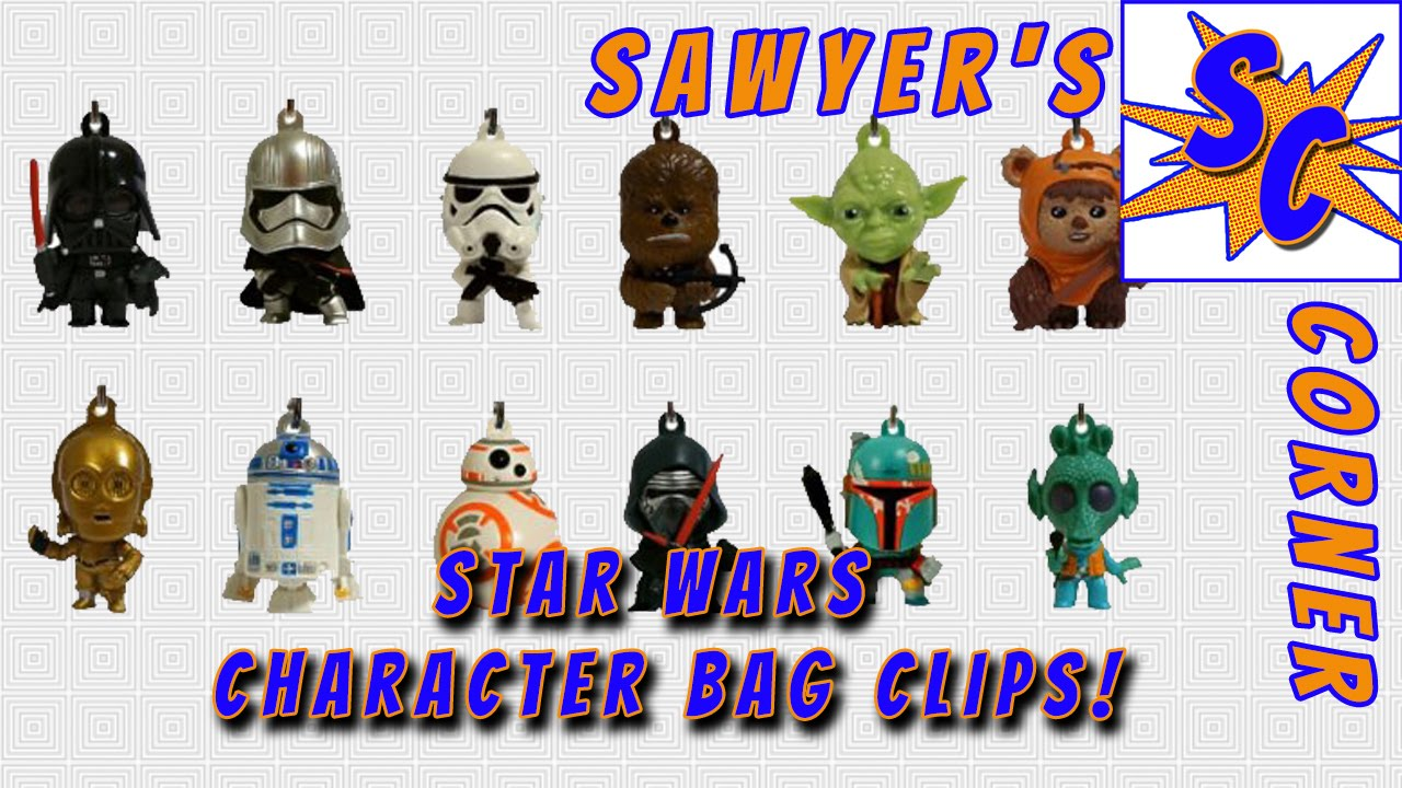 cefb875b02 Sawyer s Corner - Star Wars Character Bag Clips Blind Bags - YouTube