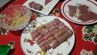 Итальянская кухня. Брачиоле Мессинези. Braciole Messinesi.