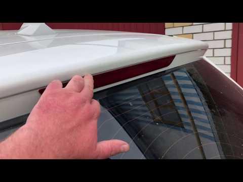 BMW X3 F25. Протекает фонарь задней двери. Протекает вода через пятую дверь.