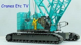 Tonkin Kobelco 7250S Crawler Crane by Cranes Etc TV