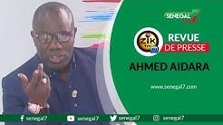 Revue de presse zik fm du lundi 22 juin par Ahmed Aidara