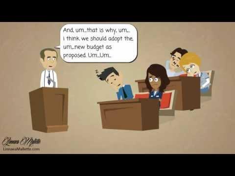 KISS Speaking Tips Presents a cartoon - The Budget Talk