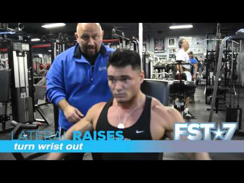 Hany Rambod's 70 sec on FST-7 Seated Lateral Raises