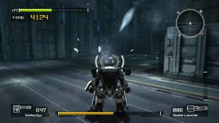 Lost Planet Colonies PC - Mission 06 Boss Battle Green Eye Extreme Mode HD720p