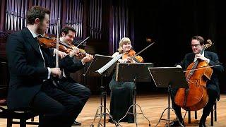 El Cuarteto Doric en el salón de Verdi