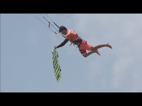 SPECTACULAR HEIGHTS for the BIG AIR FINALS - Virgin Kitesurf World Championships