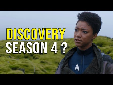 DISCOVERY Season 4 Confirmed?? - Star Trek News