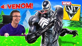 Nick Eh 30 reacts to Venom's SMASH and GRAB Mythic!