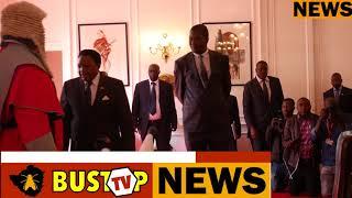President Mnangangwa's new LIMO Zim1 and Vice President swearing ceremony