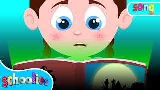 Stories Of The Dark | Kindergarten Nursery Rhymes Video For Kids | Schoolies