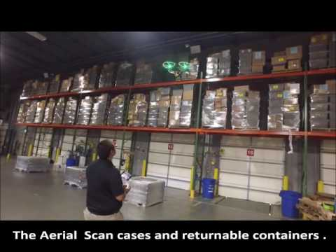 Smartx RFID Warehouse Inventory - drone inventory management