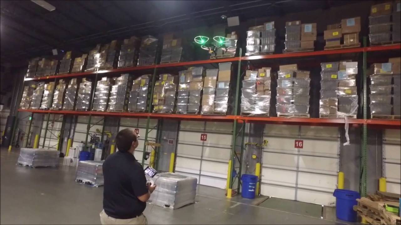 Smartx Rfid Warehouse Inventory Drone Inventory