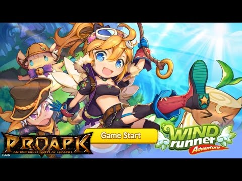 WIND Runner Adventure Gameplay Android / iOS