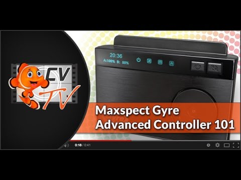 Maxspect Gyre 200 Series: Advanced Controller Setup