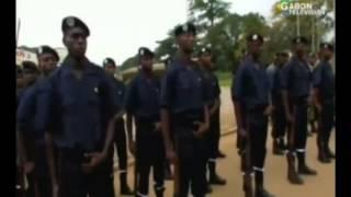 RTG - Cérémonie de fin de formation des sapeurs pompiers du Centre d'Institution de Mouilla
