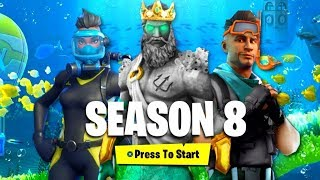 FORTNITE SEASON 8 IST DA! 🔥 Battle Pass, Trailer, Map, Double Pump? 🔥 Fortnite Battle Royale