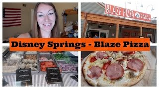 Disney Springs - Blaze Pizza