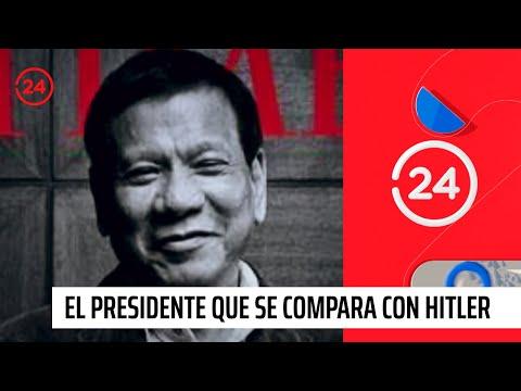 Rodrigo Duterte: El polémico presidente filipino que se compara con Hitler
