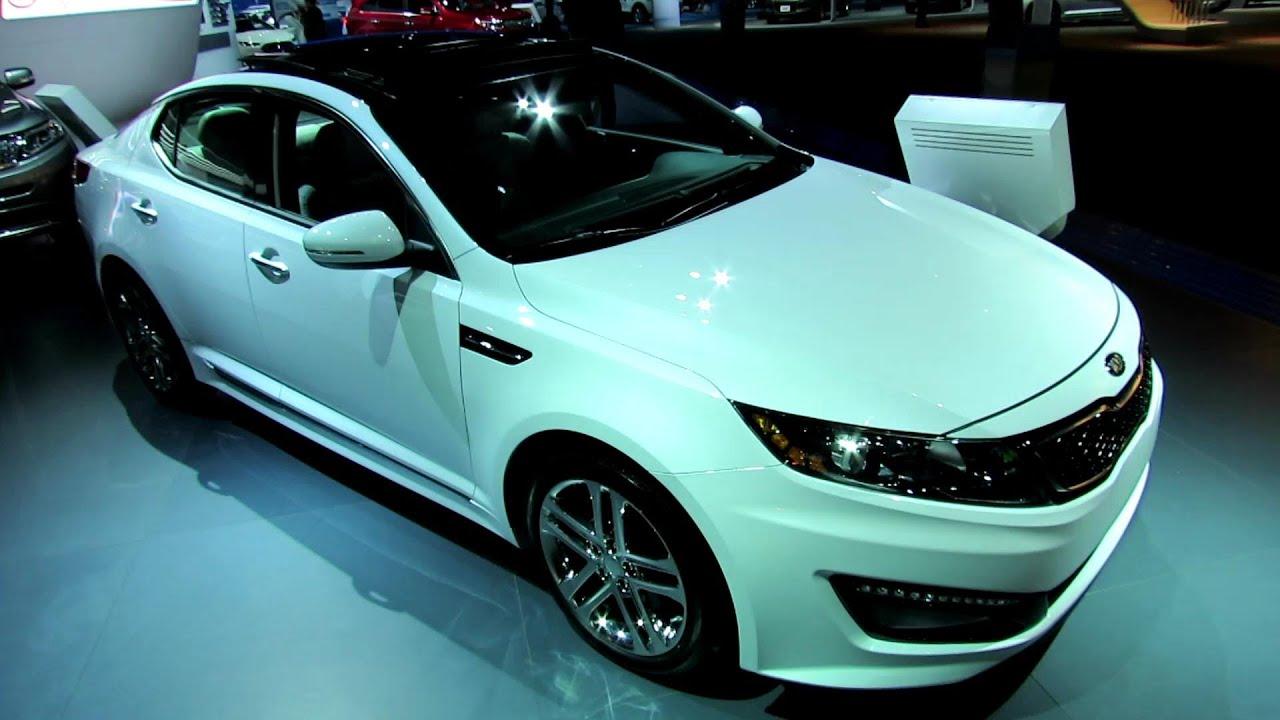 2013 KIA Optima SXL Exterior and Interior Walkaround 2012 Los
