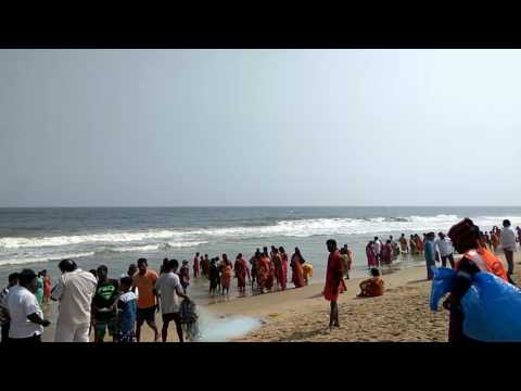 Chennai Marina beach function celebration of offshore area