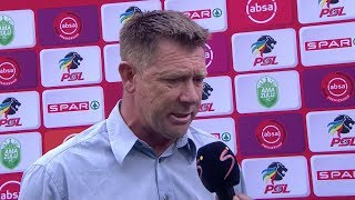 Absa Premiership | AmaZulu FC v Maritzburg United | Post-match interview with Eric Tinkler